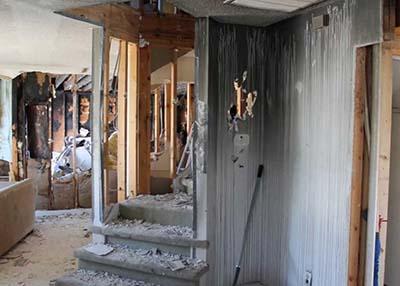 Fire Damage Home2
